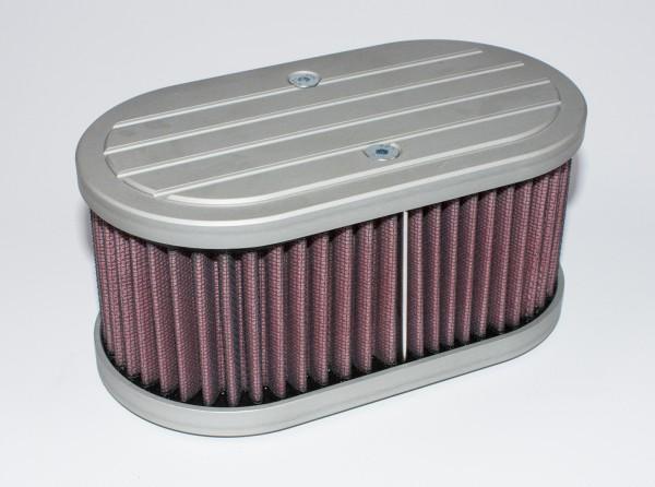 Luftfiltergehäuse für Solex 40 PII Vergaser f. K&N Filtereinsätze