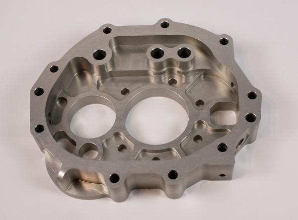Zwischenplatte CNC Frästeil 901/914 für Mg. Gehäuse