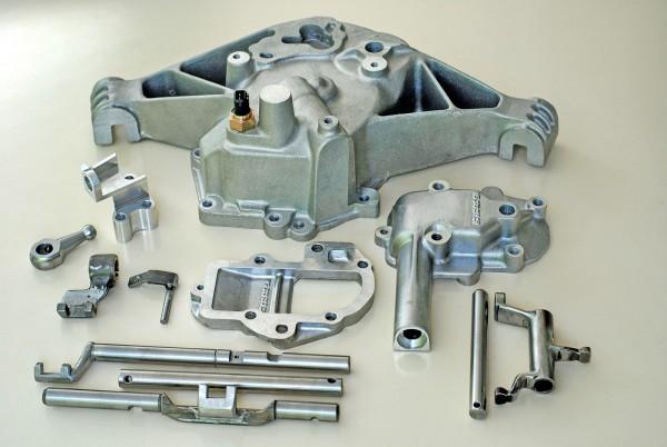Bild zeigt Getriebekit 916 für elektronischen Antrieb